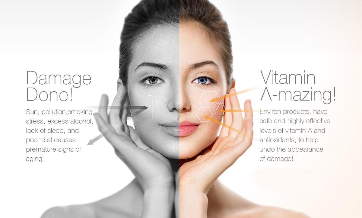 Vitamin a skincare
